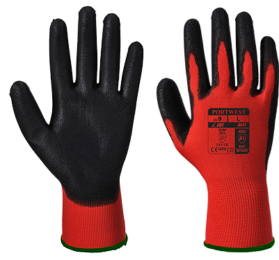 Red/Black | Amber Cut - Nitrile Foam | The Safety Warehouse - Online Mega Store.