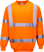Orange | Hi-Vis Sweatshirt | The Safety Warehouse - Online Mega Store.