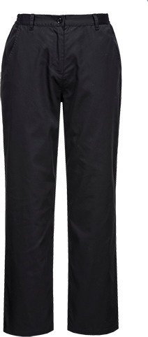 Black | Bromley Chef Trousers | The Safety Warehouse - Online Mega Store.