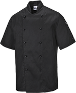 Black | Kent Chefs Jacket | The Safety Warehouse - Online Mega Store.