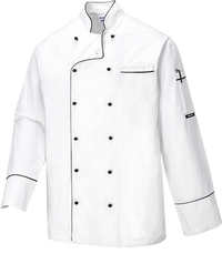 White | Somerset Chef Jacket | The Safety Warehouse - Online Mega Store.