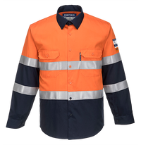Orange/Navy | Portflame Shirt | The Safety Warehouse - Online Mega Store.
