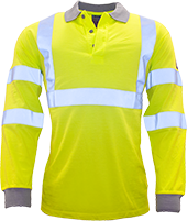 Yellow | Modaflame Hi-Vis Polo Shirt | The Safety Warehouse - Online Mega Store.
