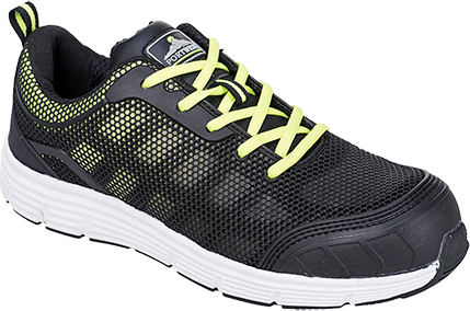Black/Green | Steelite Tove Trainer  S1P | The Safety Warehouse - Online Mega Store.