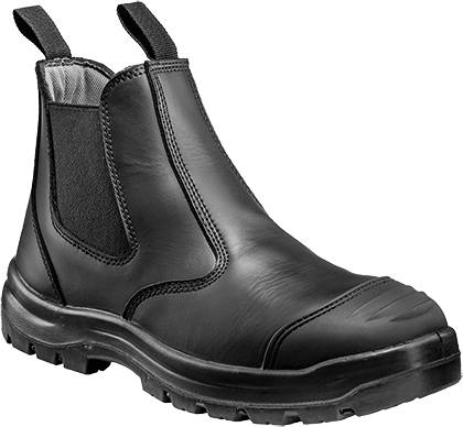 Black | Warwick Safety Dealer Boot | The Safety Warehouse - Online Mega Store.