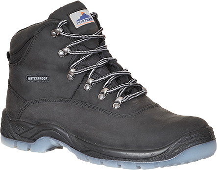 Black | Steelite All Weather Boot | The Safety Warehouse - Online Mega Store.