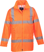 Orange | Hi-Vis Rain Jacket | The Safety Warehouse - Online Mega Store.
