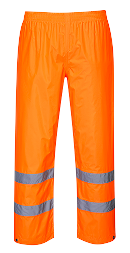Orange | Hi-Vis Rain Trousers | The Safety Warehouse - Online Mega Store.