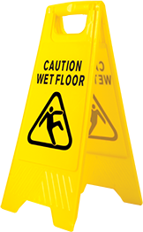 Wet Floor Warning Sign -  HV20
