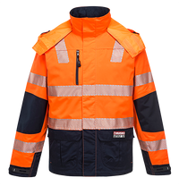 Orange/Navy | Shield Jacket  D/N | The Safety Warehouse - Online Mega Store.