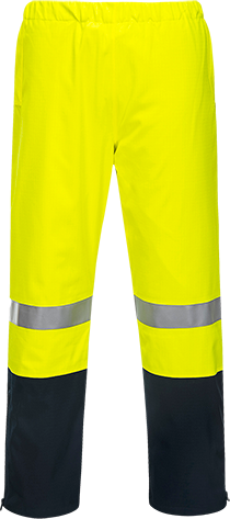 Yellow/Navy | Scorch FR Hi-Vis Pants | The Safety Warehouse - Online Mega Store.