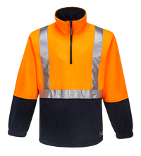 Orange/Navy | Utility Fleece Top  D/N | The Safety Warehouse - Online Mega Store.