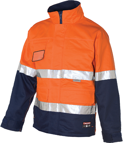 Orange/Navy | Digger 4in1 AS Jacket  D/N | The Safety Warehouse - Online Mega Store.