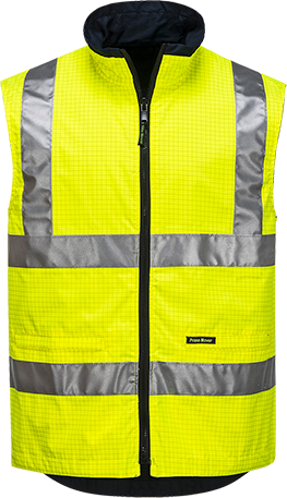 Yellow | Antistatic Bodywarmer  D&N | The Safety Warehouse - Online Mega Store.