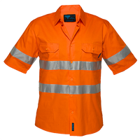 Orange | Lightweight Shirt  S/S  D&N | The Safety Warehouse - Online Mega Store.
