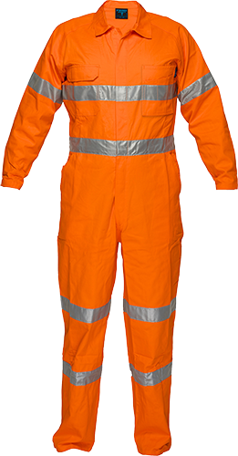 Orange | Lightweight Coverall  D&N | The Safety Warehouse - Online Mega Store.