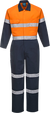 Orange/Navy | Cotton Coverall  D&N | The Safety Warehouse - Online Mega Store.