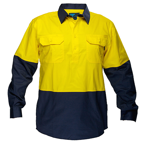 Closed Shirt  L/S  Class D -  MC801