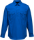 Cobalt | Lightweight Shirt Closed  L/S | The Safety Warehouse - Online Mega Store.