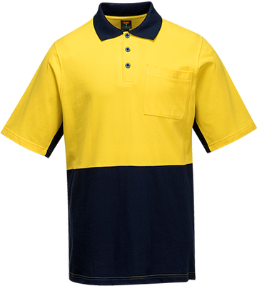 Cotton Polo Shirt Class D  S/S -  MD618