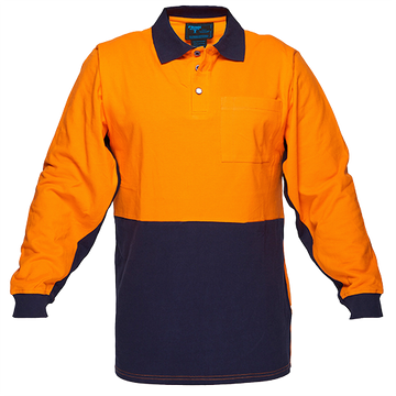 Cotton Polo Shirt Class D  L/S -  MD619