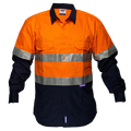 FR Cotton Drill Shirt  D&N -  MF101
