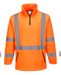 Orange | X-Back Fleece Jumper | The Safety Warehouse - Online Mega Store.
