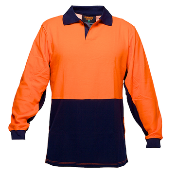 Food Polo Cotton Class D  L/S -  MF213