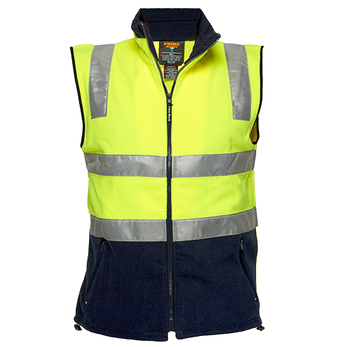 Hi-Vis Fleece Vest  D&N -  MF514