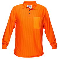 Orange | FR Micro Mesh Polo Class D L/S | The Safety Warehouse - Online Mega Store.