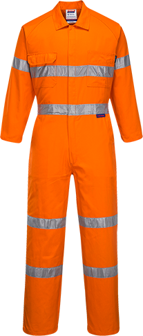 Orange | Flame Retardant Coverall  D&N | The Safety Warehouse - Online Mega Store.