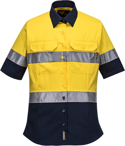 Hi-Vis Ladies Shirt  S/S  D/N -  ML109