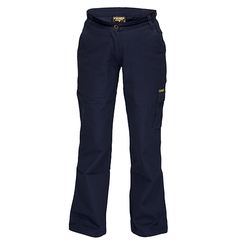 Navy | Ladies Cargo Pants | The Safety Warehouse - Online Mega Store.