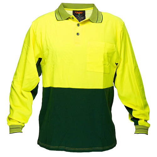 Cotton Backed Polo Class D L/S -  MP213