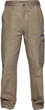 Khaki | Cotton Cargo Pants | The Safety Warehouse - Online Mega Store.