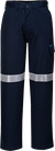 Cotton Cargo Pants With Tape -  MP701