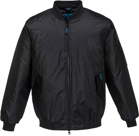 Black | Bomber Jacket | The Safety Warehouse - Online Mega Store.