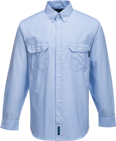 Blue | Chambray Shirt  L/S | The Safety Warehouse - Online Mega Store.
