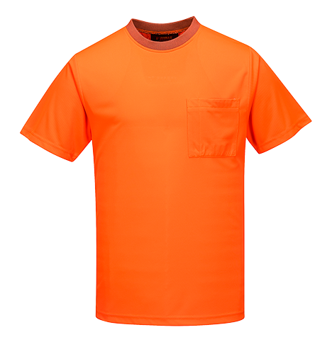 Orange | Micro Mesh T-Shirt Class D S/S | The Safety Warehouse - Online Mega Store.