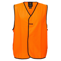 Orange | Staff Hi-Vis Vest  Class D | The Safety Warehouse - Online Mega Store.