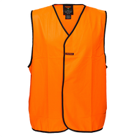 Orange | Security Hi-Vis Vest  Class D | The Safety Warehouse - Online Mega Store.