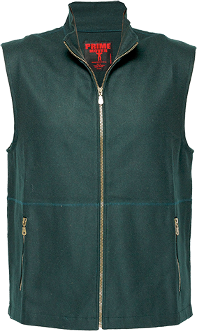Green | 100% Wool Vest | The Safety Warehouse - Online Mega Store.