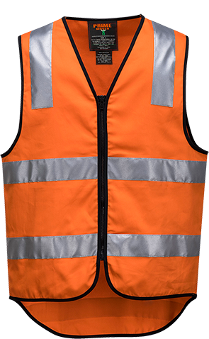 Cotton Hi-Vis Vest  D&N -  MW338