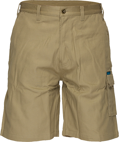 Khaki | Cotton Cargo Shorts | The Safety Warehouse - Online Mega Store.