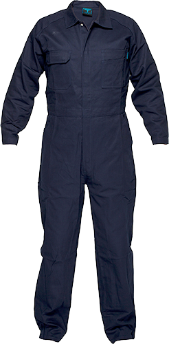 Navy | Cotton Coverall | The Safety Warehouse - Online Mega Store.