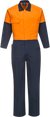 Orange/Navy | Cotton Coverall  Class D | The Safety Warehouse - Online Mega Store.