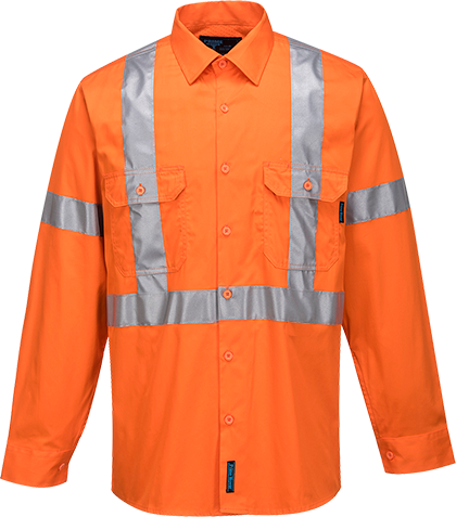 Orange | Hi-Vis X Rain Jacket Lite  D&N | The Safety Warehouse - Online Mega Store.