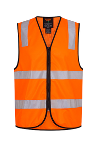 Orange | Traffic Control Zip Vest  D&N | The Safety Warehouse - Online Mega Store.