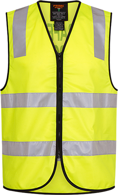Traffic Control Zip Vest  D&N -  MZ105