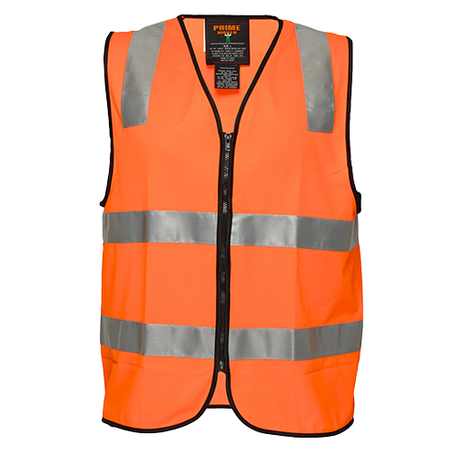 Orange | Staff Zip Vest  D&N | The Safety Warehouse - Online Mega Store.
